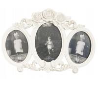 "Photo frame ""White Heart"""