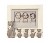 """Photo frame """"Cat's family"""""""