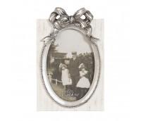 "Photo frame ""Silver bow"""
