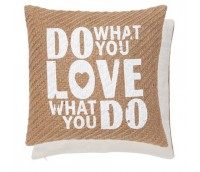 "Cushion Cover ""Do what you love"""
