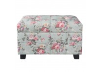 Hocker/ Storage trunk Roses