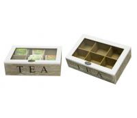 Teabox, 6 parts