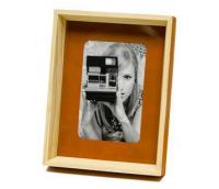"Photo frame ""Enjoy"", orange"