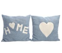 """Cushion """"Home&Heart"""""""
