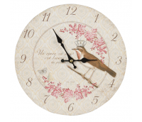 "Clock ""King's Bird"""