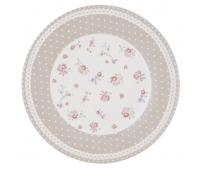"Plate Ø 26 cm, range ""Dots & Flowers"""
