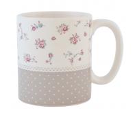 """Kohvikruus või Teekruus, seeria """"Täpid & Lilled"""""""