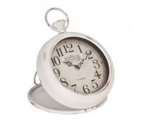 "Table or Wall Clock ""White Retro"""