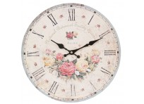 "Wall clock ""Rose Garden"""