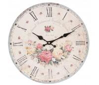 """Wall clock """"Rose Garden"""""""