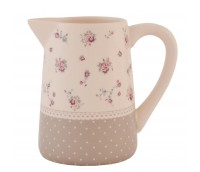 "Milk or cream jug, range ""Dots & Flowers"""