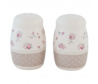 "Salt and Pepper, range ""Dots & Flowers"""