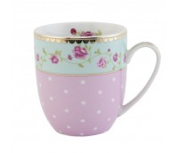 "Coffee or tea mug, range ""Dots&Roses"""